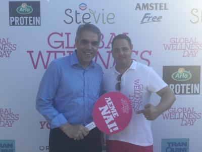 GWD Ambassador Dimitris Oreopoulos and Vice Mayor of Athens Cristos Tentomas.JPG