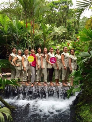 TABACON Spa team waking of water Costa Rica GWD 2015.jpg