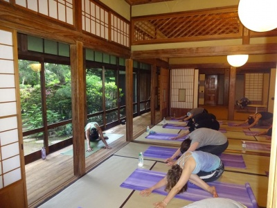 Photo Yoga traditional Japanese house Iida GWD June 2015.JPG