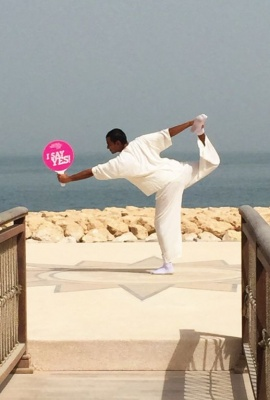 Anantara Yoga June 2015 Banana Island Resort Doha by Anantara Qatar.jpg