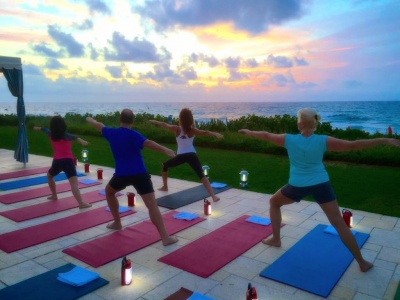 Photo Sunrise Yoga Palm Beach Four Seasons GWD June 2015.jpg