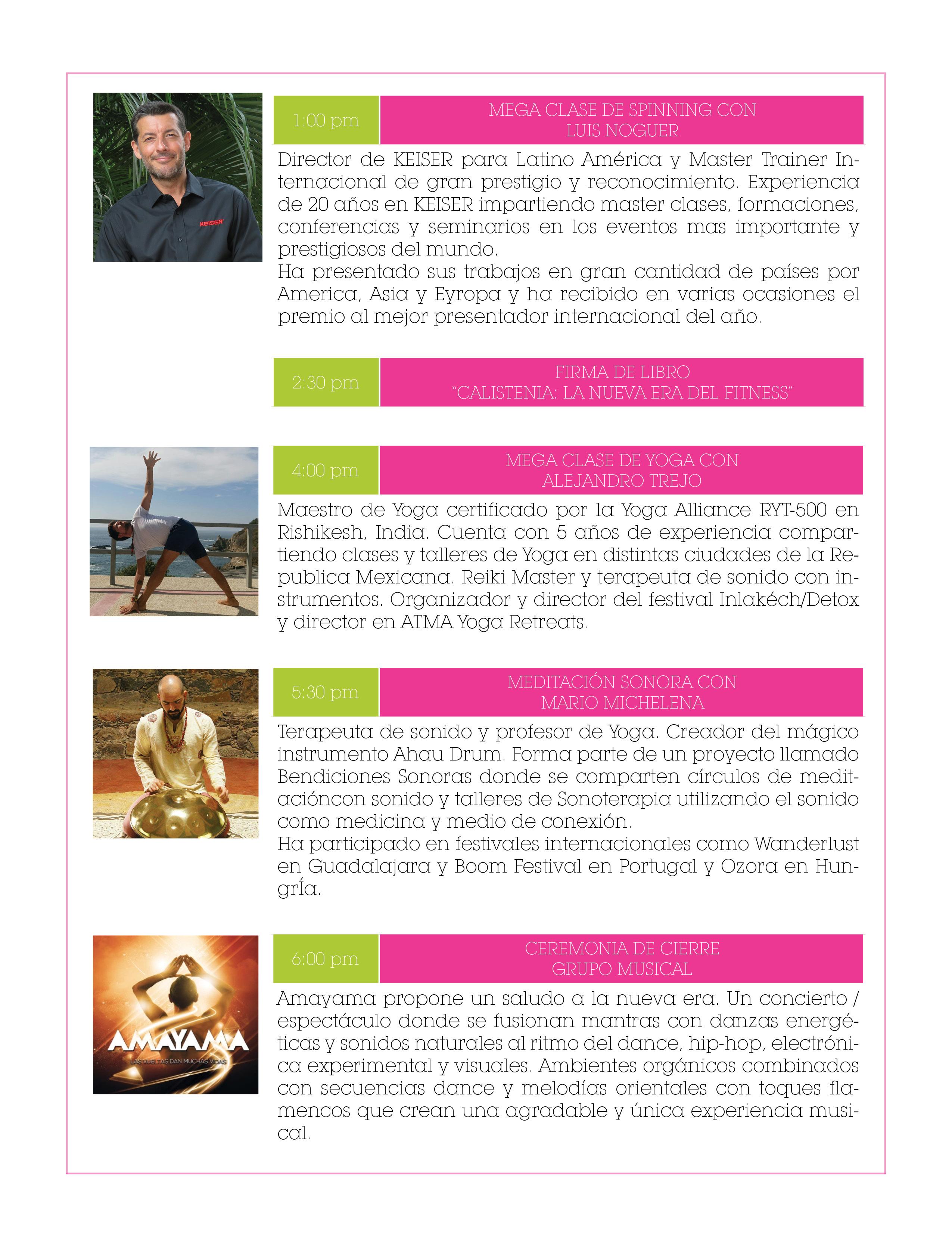 Program – Global Wellness Day