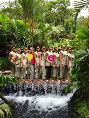TABACON Spa team waking of water Costa Rica GWD 2015.jpg